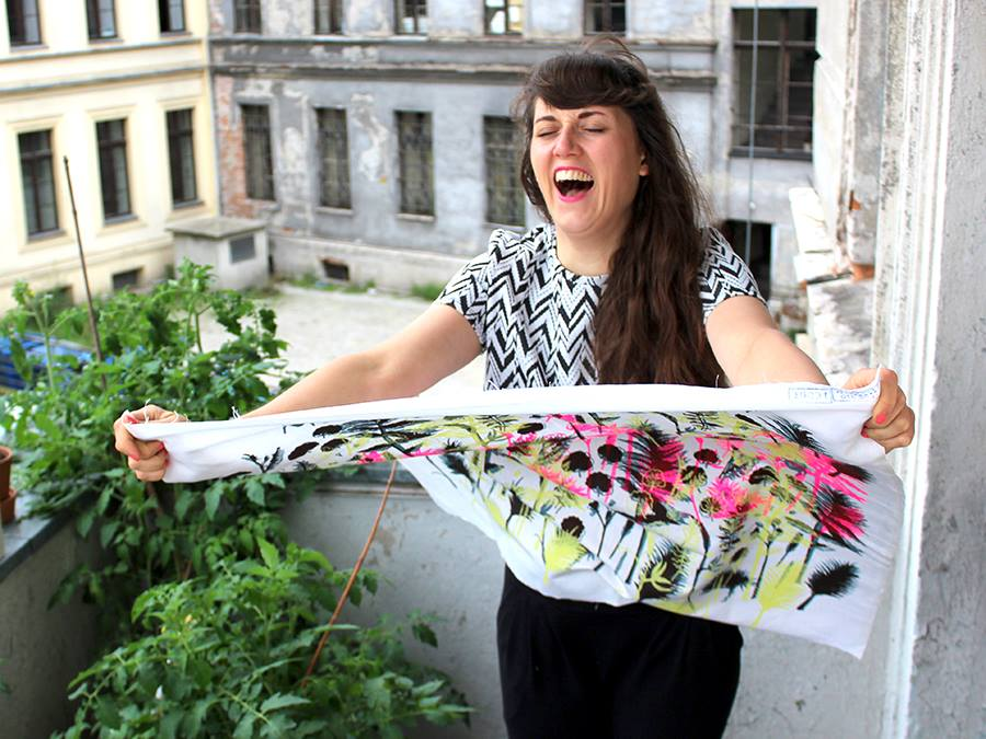 Artist Natalia Jerzak designer wieje