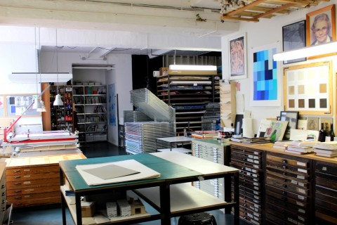 Printmaking studios in Berlin