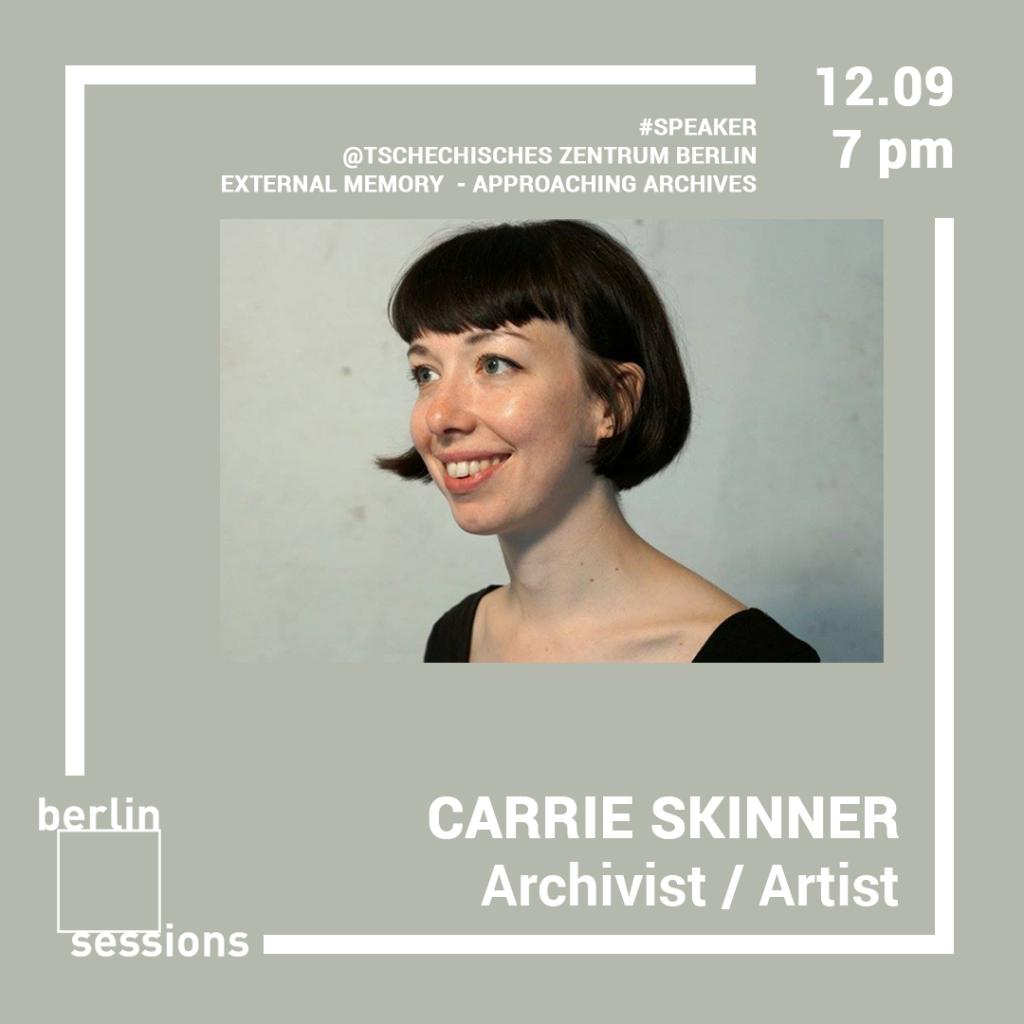 Carrie Skinner artist archivist