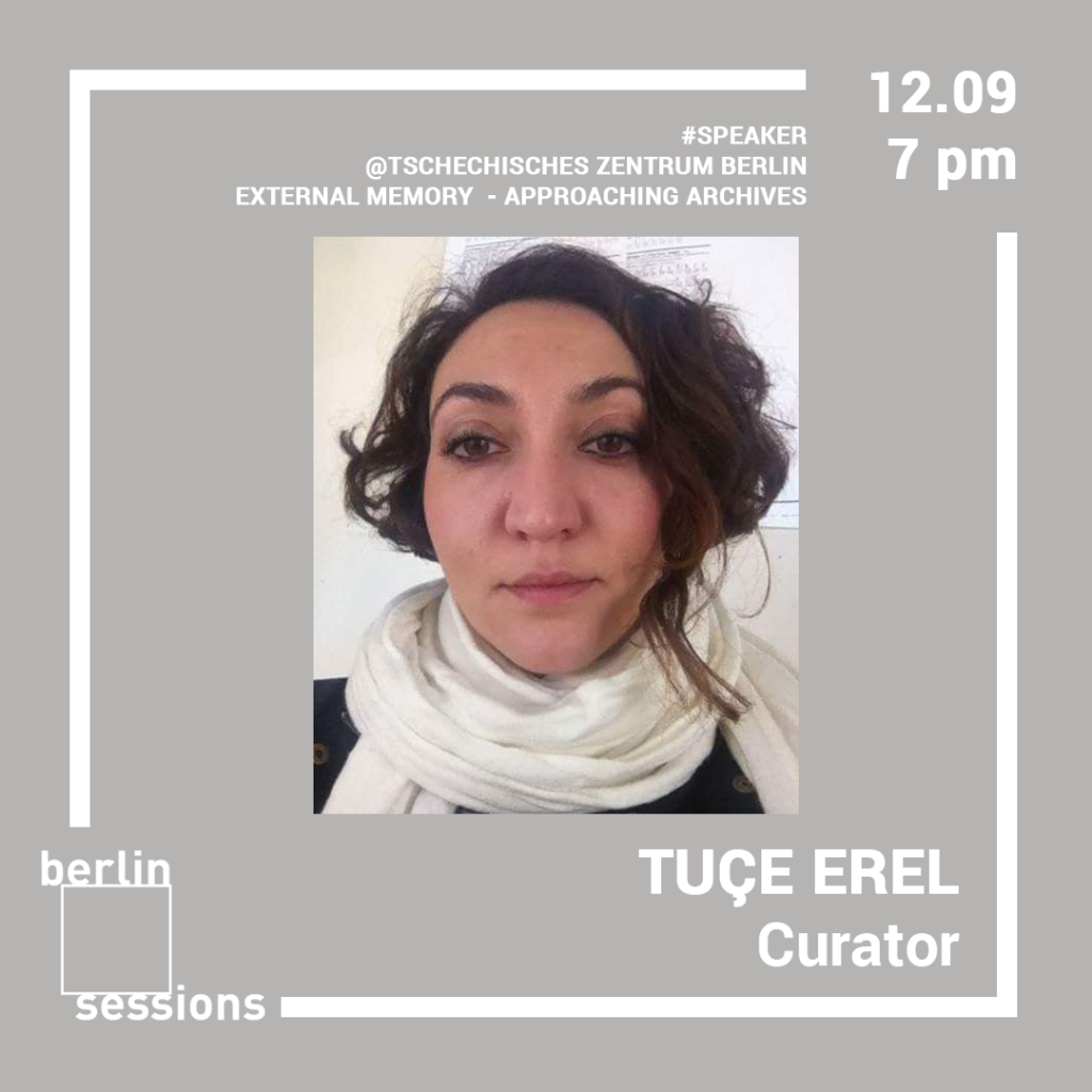 Tuçe Erel is a curator