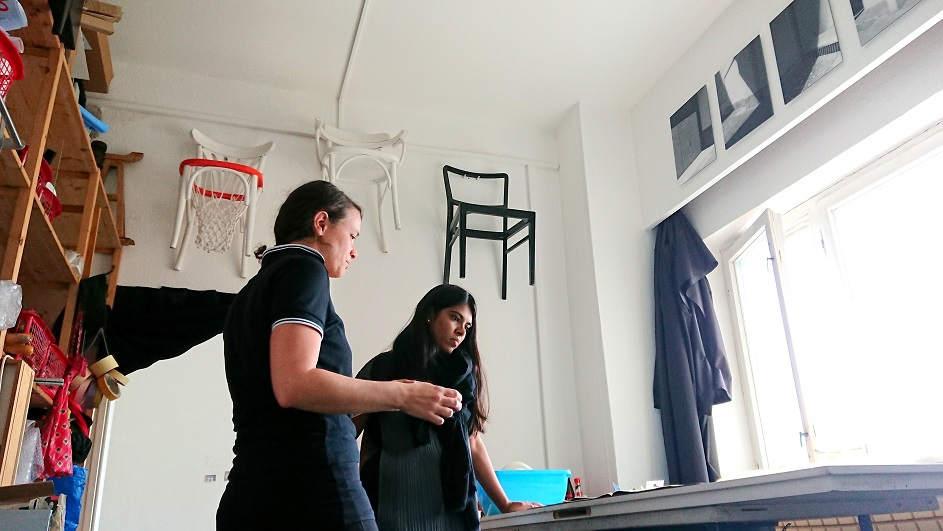 TIFA Working Studios Studio Visit Laure Catugier
