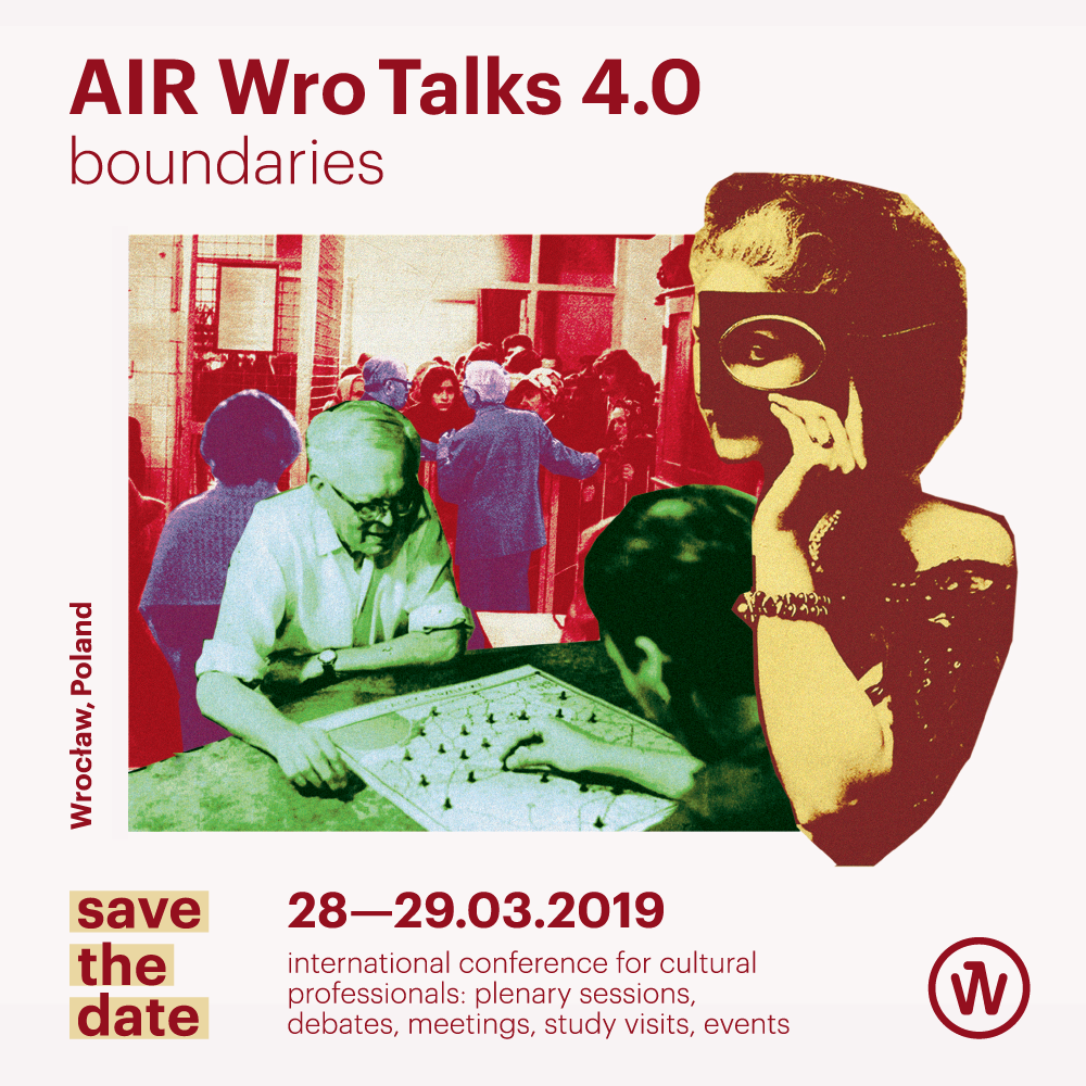 The international conference on culture AIR Wro Talks, organized by the Culture Zone Wrocław (formerly the office of the European Capital of Culture Wrocław 2016) for the fourth time, is approaching fast. This year, between 28th-29th March representatives of cultural organizations, artists, curators and creatives will meet again at Barbara to talk and get to know each other better. Berlin Sessions Residency is a long term partner of AIR Wro and will participate in the conference.